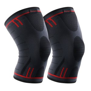 Kuangmi Knee Brace Compression Sleeve Support for Running