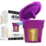DI ORO - MaxBrew 24K GOLD K-Cup Reusable Filter for Keurig 2.0