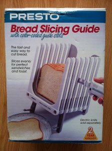 Presto - Bread Slicing Guide w/ Coded Guide Slots