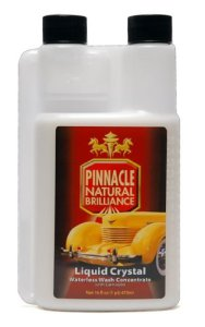 Pinnacle Liquid Crystal Waterless Wash Concentrate