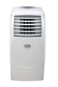 Global Air 12,000 BTU Portable Air Conditioner Cooling-Heating-Dehumidifying