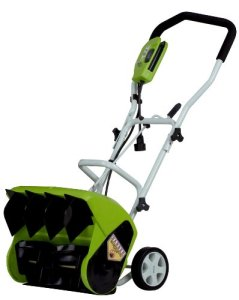 Greenworks 16-Inch 10 Amp Corded Snow Shovel 26022
