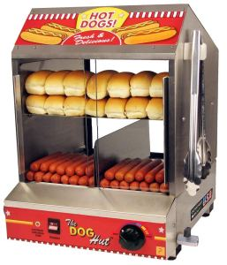 Paragon 8020 Hot Dog Hut Steamer Merchandiser