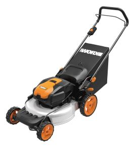 WORX WG772 56V Lithium-Ion 3-in-1 Cordless Mower with IntelliCut