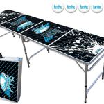 8-Foot Beer Pong Table w-OPTIONAL Cup Holes
