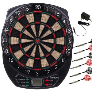 WIN.MAX Electronic Soft Tip Dartboard Set