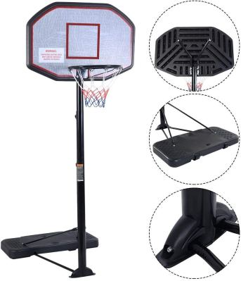 KLB Sport Pro Court Height Adjustable Portable Basketball Hoop System