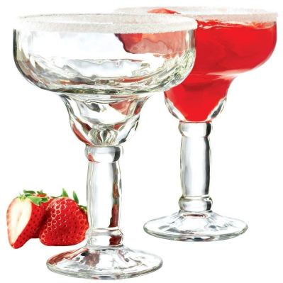 Libbey 5784 Yucatan 4-Piece Margarita Glass Set