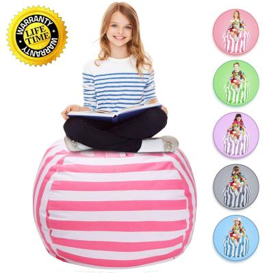 WEKAPO Stuffed Animal Storage Bean Bag