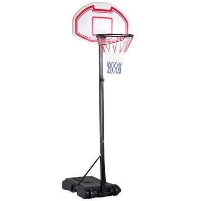 Yaheetech Height Adjustable Basketball Hoop System Portable Kids Junior