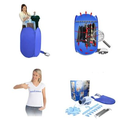 Weekweed - Portable Folding Electric Air Drying Clothes Dryer Clothing Dryer Heater