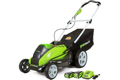 Greenworks 19-Inch 40V Cordless Lawn Mower, 4.0 AH & 2.0 AH Batteries Included 25223 Review