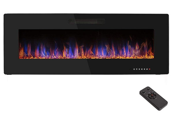 Astounding 10 Best Wall Mount Electric Fireplaces In 2019 Top10Focus Home Interior And Landscaping Analalmasignezvosmurscom