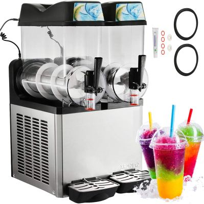 Happybuy Slushy Machine 110V Margarita Maker Frozen Drink