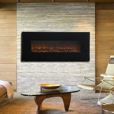 KUPPET 50 Wall Mounted Electric Fireplace