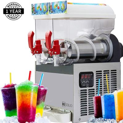 Slush Machine- Slushie Machine with Two 15L Tanks