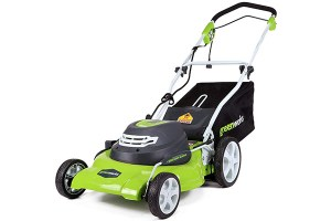 Greenworks 20-Inch 12 Amp Corded Lawn Mower 25022 Review