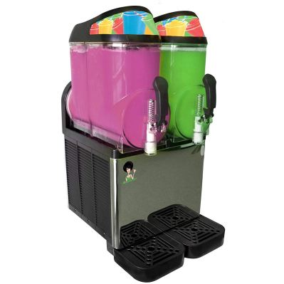 Margarita Girl Double-Bowl Full Size Margarita Slush Frozen Drink Machine