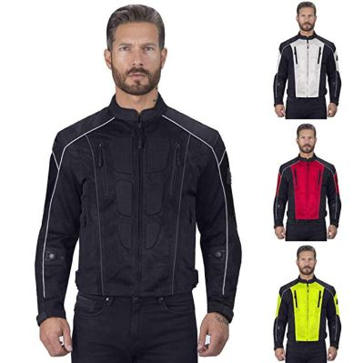 Viking Cycle Warlock Mesh Motorcycle Jacket for Men