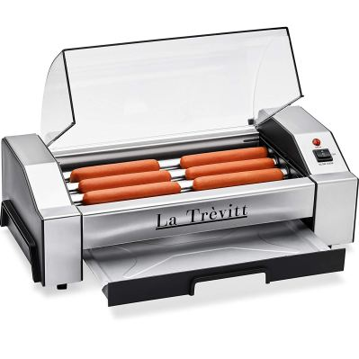 La Trevitt Hot Dog Roller - Sausage Grill Cooker Machine