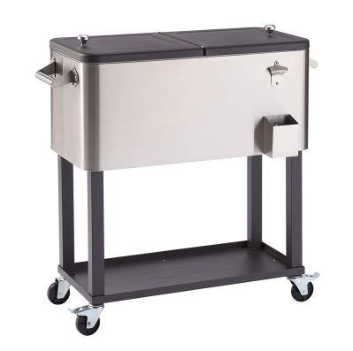 TRINITY TXK-0802 Stainless Steel Cooler