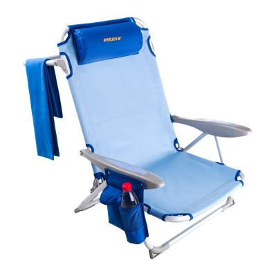 WEJOY Aluminum Lightweight Portable Adjustable Beach Chair