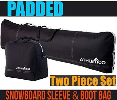Athletico Padded Two-Piece Snowboard