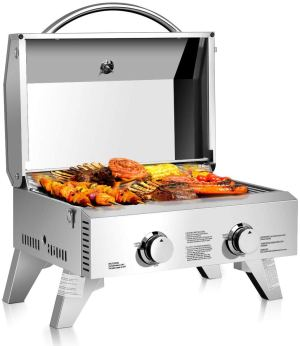 Giantex Propane Stainless Steel Tabletop Gas Grill