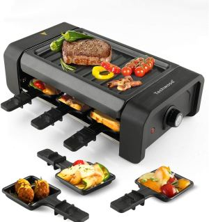 Techwood Electric Raclette BBQ Tabletop Grill