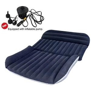 BHMOTORUS Mobile Inflation Travel Thicker Back Seat Cushion Air Bed