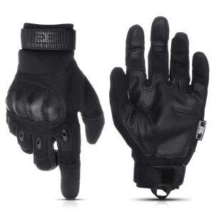 Glove Station The Combat Military Police Outdoor Sports Tactical Rubber Knuckle Gloves