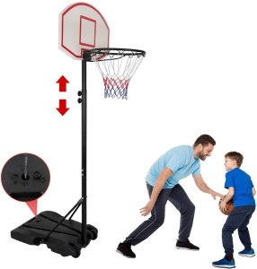 Nova Microdermabrasion Kids Portable Basketball Hoop