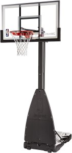 Spalding NBA Glass Backboard Portable Basketball Hoop