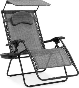 Best Choice Products Reclining Lounge Patio Chair