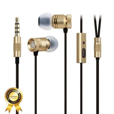 9. GGMM Nightingale Deep Heavy Bass In-Ear Noise-Isolating Headphone