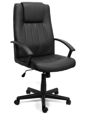 7. XtremepowerUS PU Leather Executive Chair
