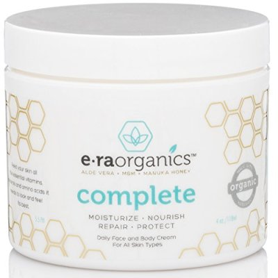 9 Era Organics Natural Face Moisturizer Cream 4oz