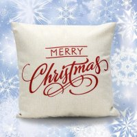 2 Sankuwen Home Decoration Christmas Pillow Cushion Cover