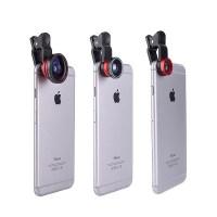 3. YOPO 3-in-1 Clip-On Camera Lens Kit