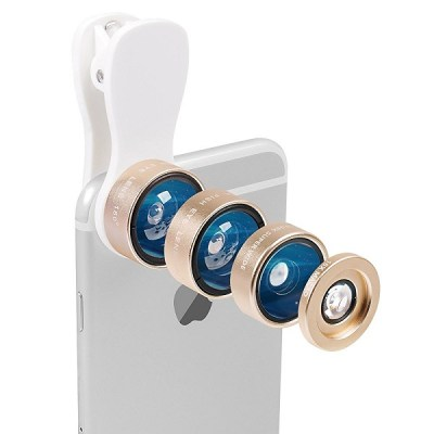 8. Evershop Universal 3-in-1 Camera Lens Kit