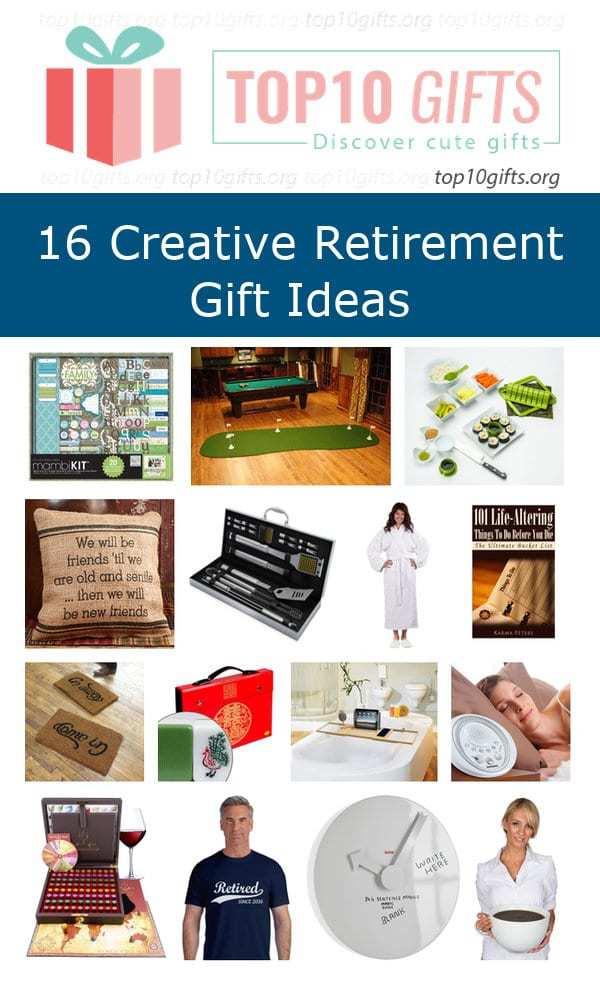 creative retirement gifts