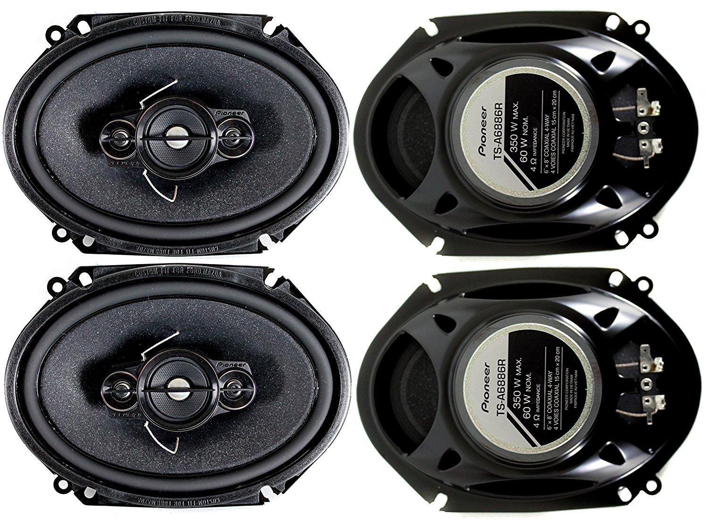 hight resolution of  8 pioneer 4 way stereo speakers ts best car speakers