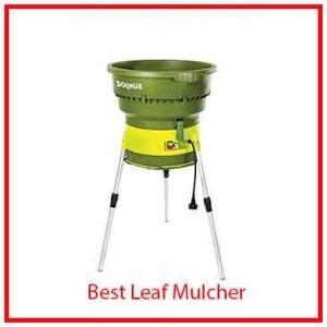 3) WSun Joe Electric Leaf Mulcher