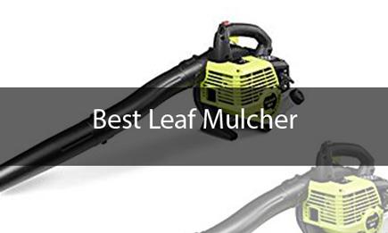 best leaf mulcher