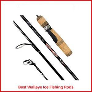 Fiblink Graphite Walleye Ice Fishing Rods