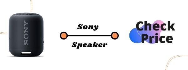 Sony SRS-XB12 Mini Bluetooth Speaker for Car
