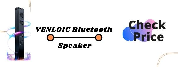 VENLOIC Bluetooth Speaker