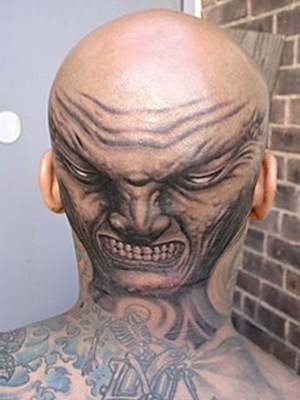 top 10 head tattoos top 10 hell