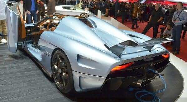 Koenigsegg Regera 2 entre os carros mais caros do mundo