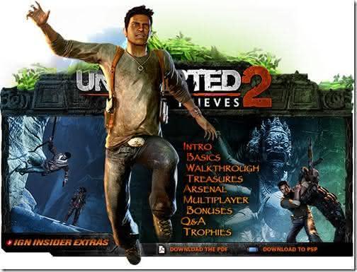 Uncharted 2 Top 10 melhores jogos para PlayStation 3